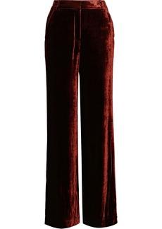 A.l.c. Woman Ashbury Velvet Wide-leg Pants Copper