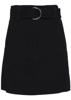 A.l.c. Woman Bronx Belted Cady Mini Skirt Midnight Blue