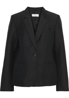 A.l.c. Woman Campbell Cotton And Silk-blend Blazer Black