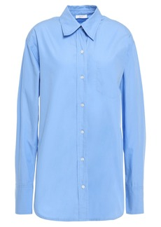 A.l.c. Woman Cotton-poplin Shirt Light Blue