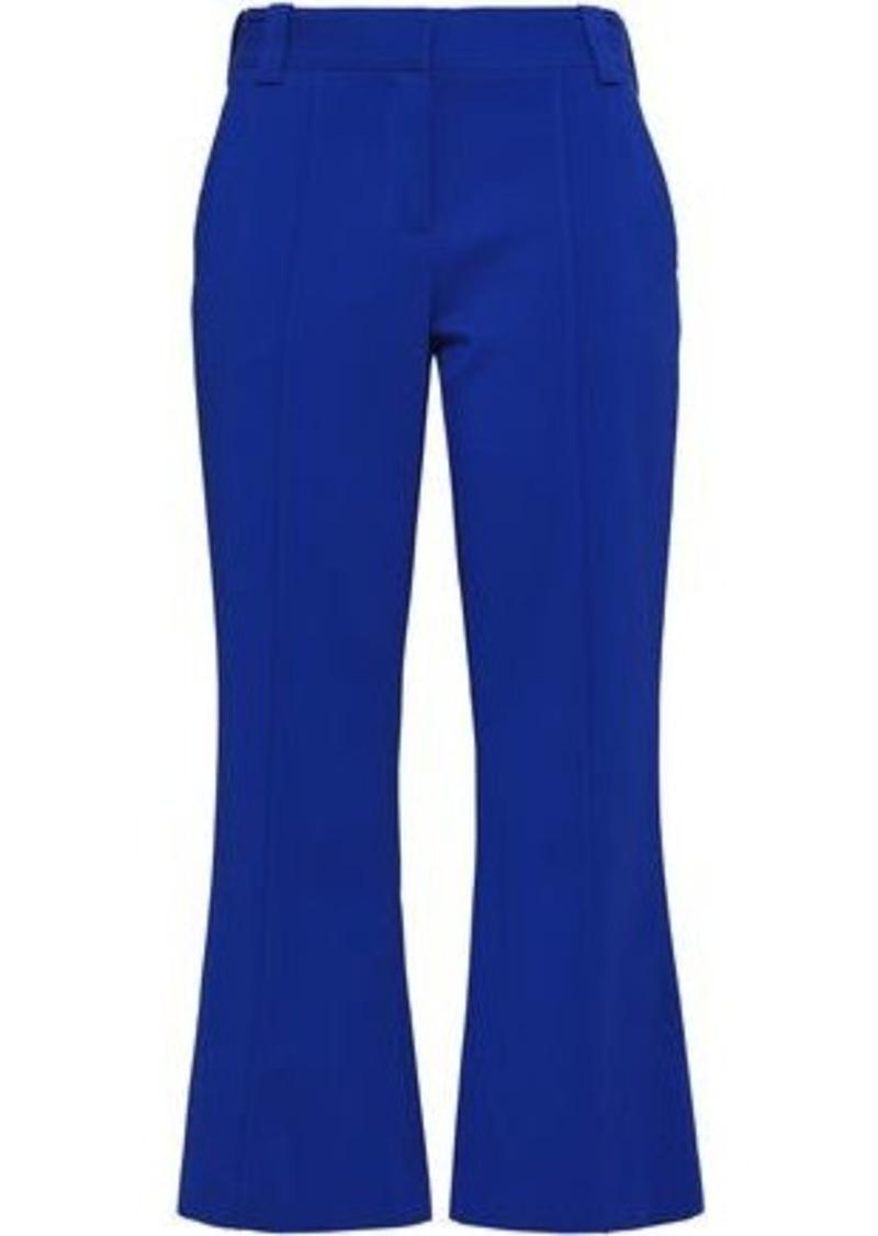 64efab5b3 A.L.C. A.l.c. Woman Felix Stretch-crepe Kick-flare Pants Cobalt Blue ...