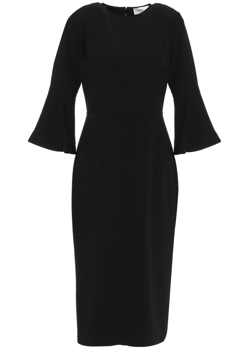 A.l.c. Woman Crepe De Chine Dress Black