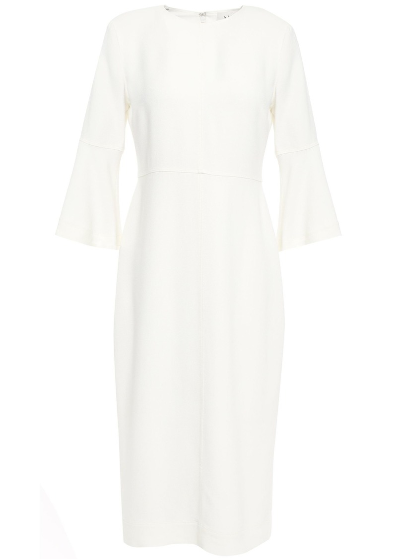 A.l.c. Woman Fluted Crepe Dress Ivory