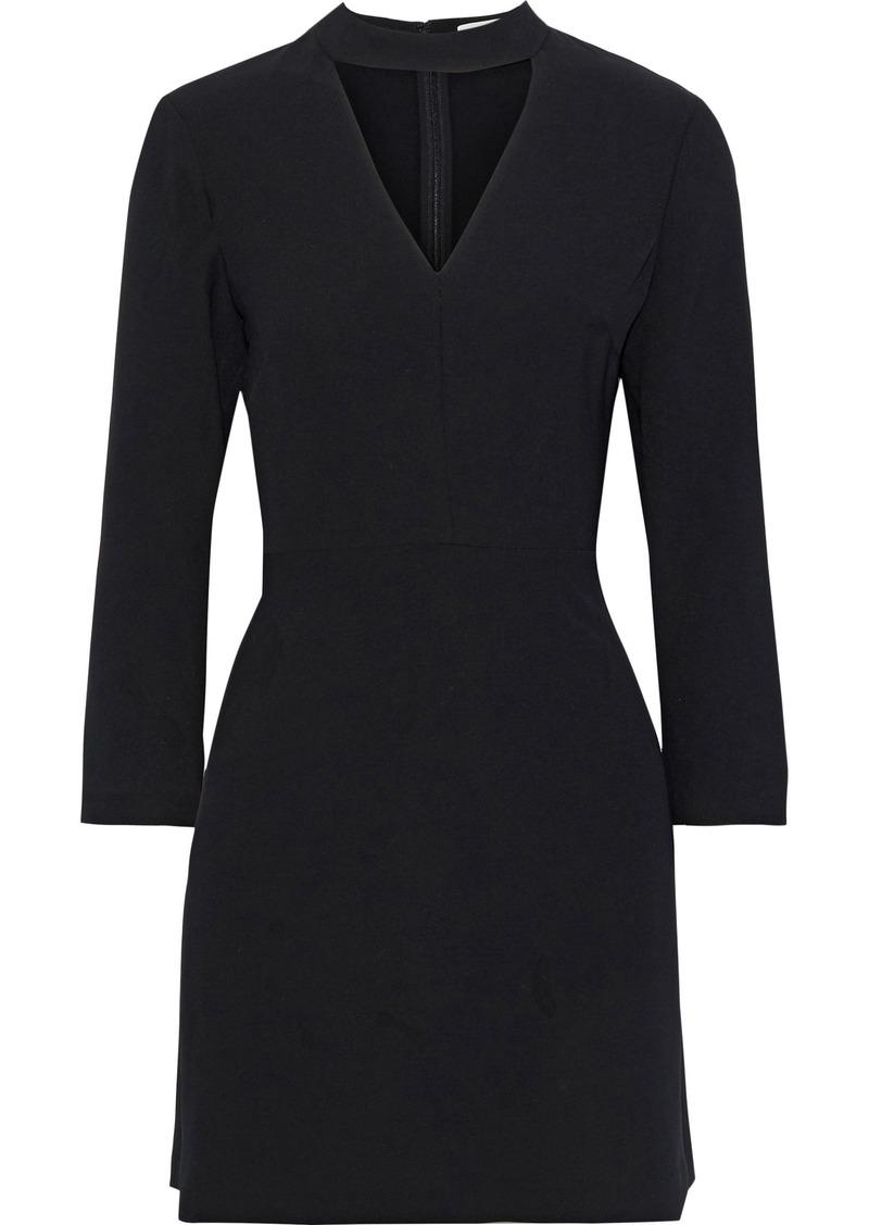 A.l.c. Woman Lee Cutout Stretch-crepe Mini Dress Black