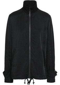 A.l.c. Woman Monico Bead-embellished Sateen Jacket Black