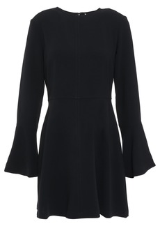 A.l.c. Woman Crepe Mini Dress Midnight Blue