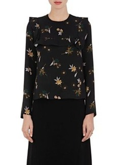 A.L.C. Women's Annaleigh Floral Silk Blouse