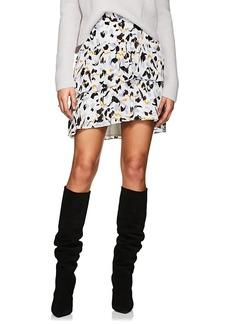 A.L.C. Women's Baxter Silk Crepe Skirt