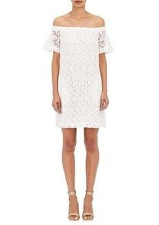 A.L.C. Women's Bolen Cotton Lace Off-The-Shoulder Dress