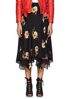 A.L.C. Women's Borden Floral Silk Skirt
