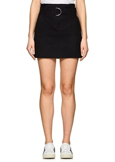 A.L.C. Women's Bryc Linen-Blend Miniskirt