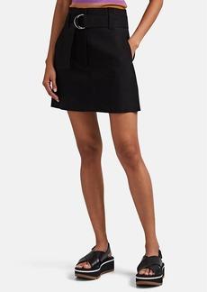 A.L.C. Women's Bryce Belted Linen-Blend Miniskirt
