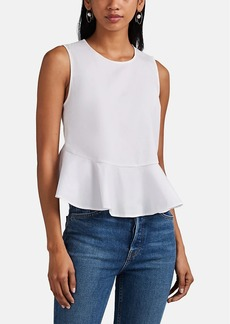 A.L.C. Women's Casara Cotton-Blend Poplin Top