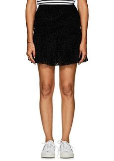 A.L.C. Women's Corey Leopard-Flocked Tulle Skirt