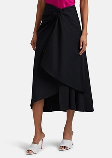 A.L.C. Women's Diller Cotton Draped Skirt