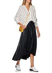 A.L.C. Women's Eleanor Pleated Wrap Skirt