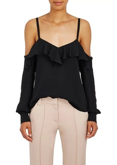 A.L.C. Women's Felix Silk Cold-Shoulder Blouse
