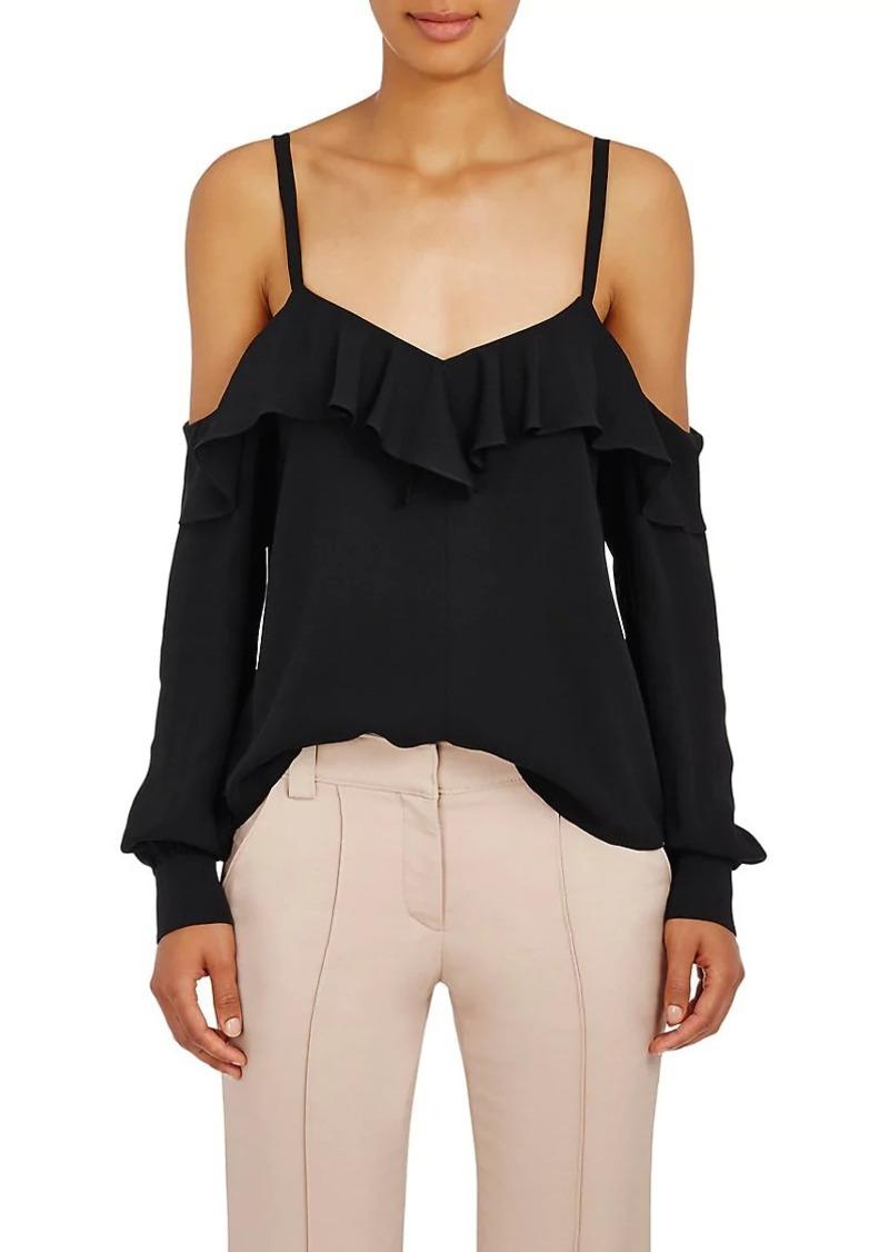 017e5cac2d29fa A.L.C. A.L.C. Women s Felix Silk Cold-Shoulder Blouse