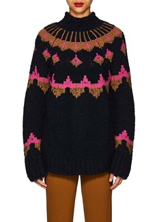 A.L.C. Women's Folkloric Wool-Blend Oversized Sweater