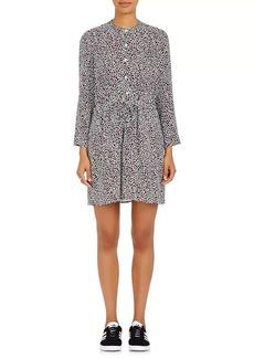 A.L.C. Women's Hazel Leopard-Print Silk Shirtdress