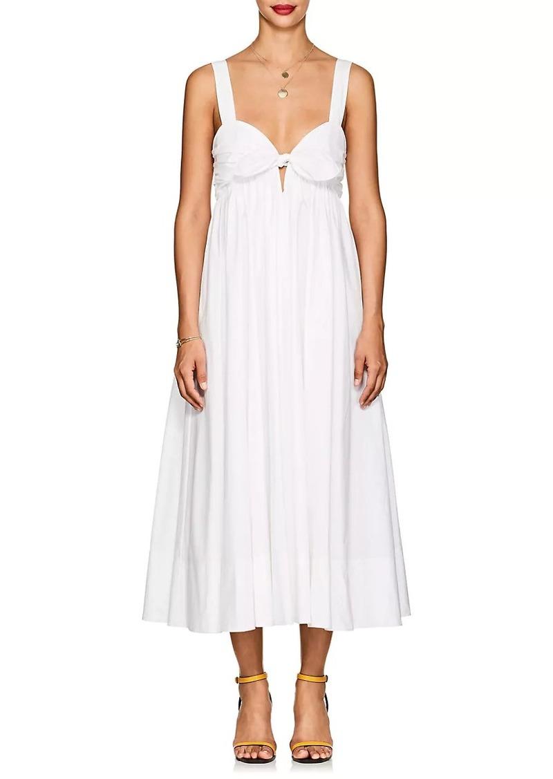 A.L.C. Women's Iris Cotton Knotted Maxi Dress