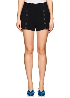 A.L.C. Women's Isaac Stretch-Crepe Shorts