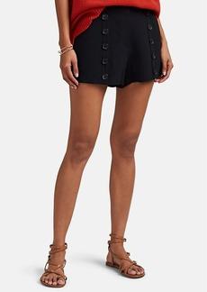 A.L.C. Women's Issac Button-Detailed High-Rise Shorts