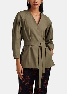 A.L.C. Women's Kendrick Linen-Blend Belted Jacket