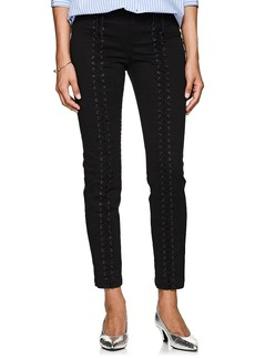 A.L.C. Women's Kerrigan Cotton Lace-Up Pants