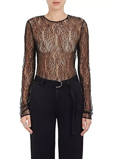 A.L.C. Women's Lace Long-Sleeve Bodysuit