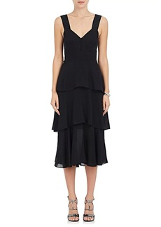 A.L.C. Women's Luna Crepe Tiered Dress