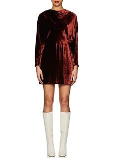 A.L.C. Women's Marin Velvet Fitted Dress