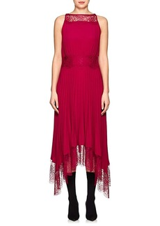 A.L.C. Women's Matilda Pleated Asymmetric Dress