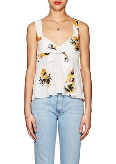 A.L.C. Women's Nova Floral Silk Top