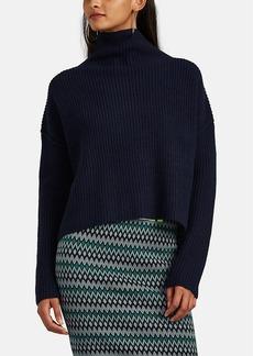A.L.C. Women's Ribbed Wool Mock-Turtleneck Sweater