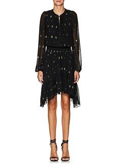 A.L.C. Women's Sidney Silk Chiffon Asymmetric Dress