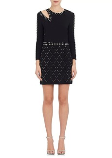 A.L.C. Women's Taraji Studded Crepe Minidress