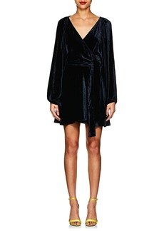 A.L.C. Women's Velvet Wrap Dress