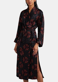 A.L.C. Women's York Silk Robe Jacket