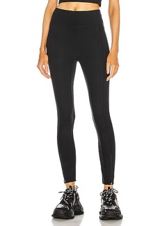 A.L.C. x Bandier High Waisted Legging With Front Zip