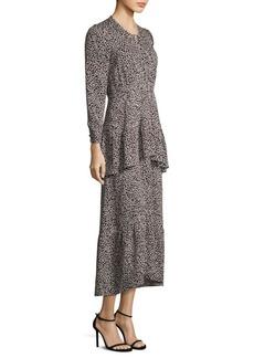 A.L.C. Zandra Leopard Dress