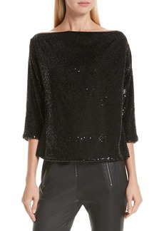 A.L.C. Zoey Sequin Top
