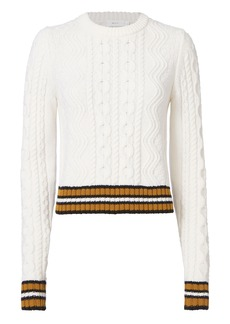 A.L.C. Alpha Striped Sweater