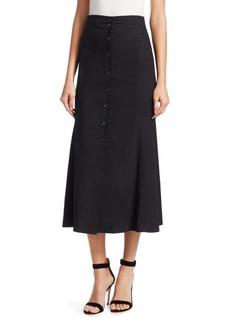 A.L.C. Amelie Linen Midi Skirt