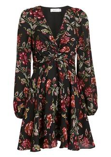 A.L.C. Annette Floral Mini Dress