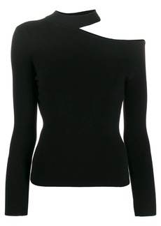 A.L.C. Asymmetric cold shoulder jumper