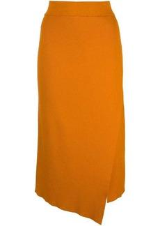 A.L.C. asymmetric midi skirt