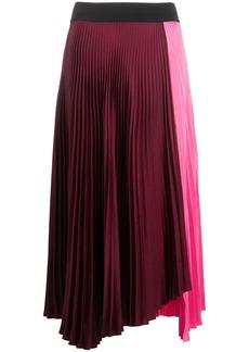 A.L.C. asymmetric pleated skirt