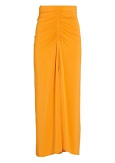 A.L.C. Aurelie Ruched Midi Skirt
