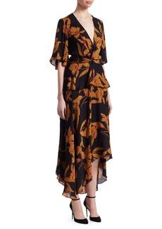 A.L.C. Avi Floral Knot Dress